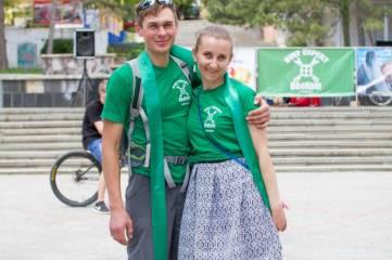 В Феодосии в «Велодне» приняли участие более 100 велосипедистов