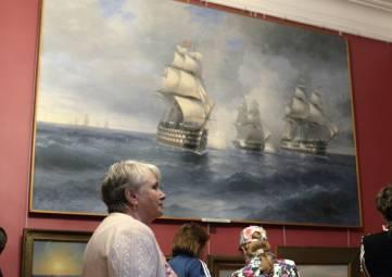 Картины из галереи Айвазовского Феодосии не принадлежат