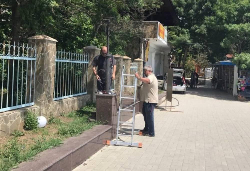 Площадь Волошина в Коктебеле дождалась восстановления освещения