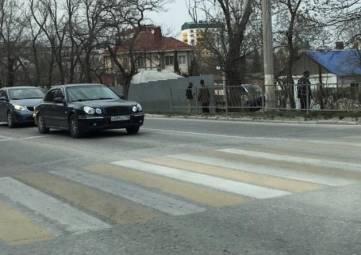 На Симферопольском шоссе огораживают земельный участок