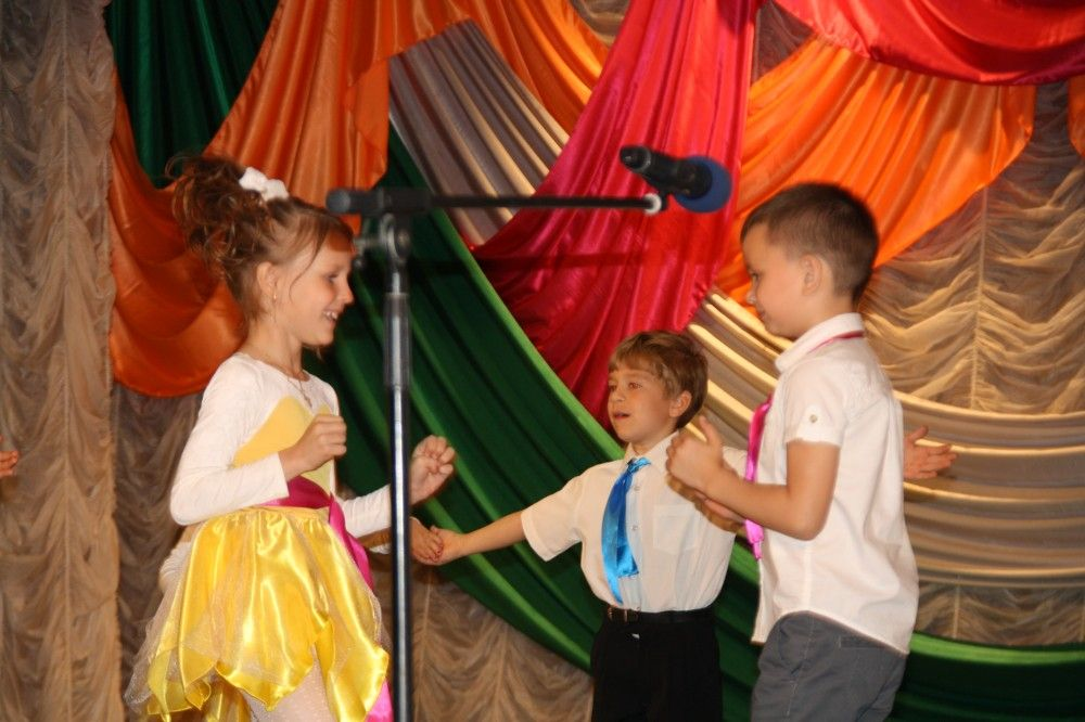 В Феодосии выступили талантливые дошколята