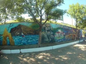Коктебельские художники украшают поселок уличной росписью (ФОТО)