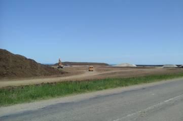 Масштабное строительство одного из участков «Тавриды» развернулось под Феодосией (ФОТО)