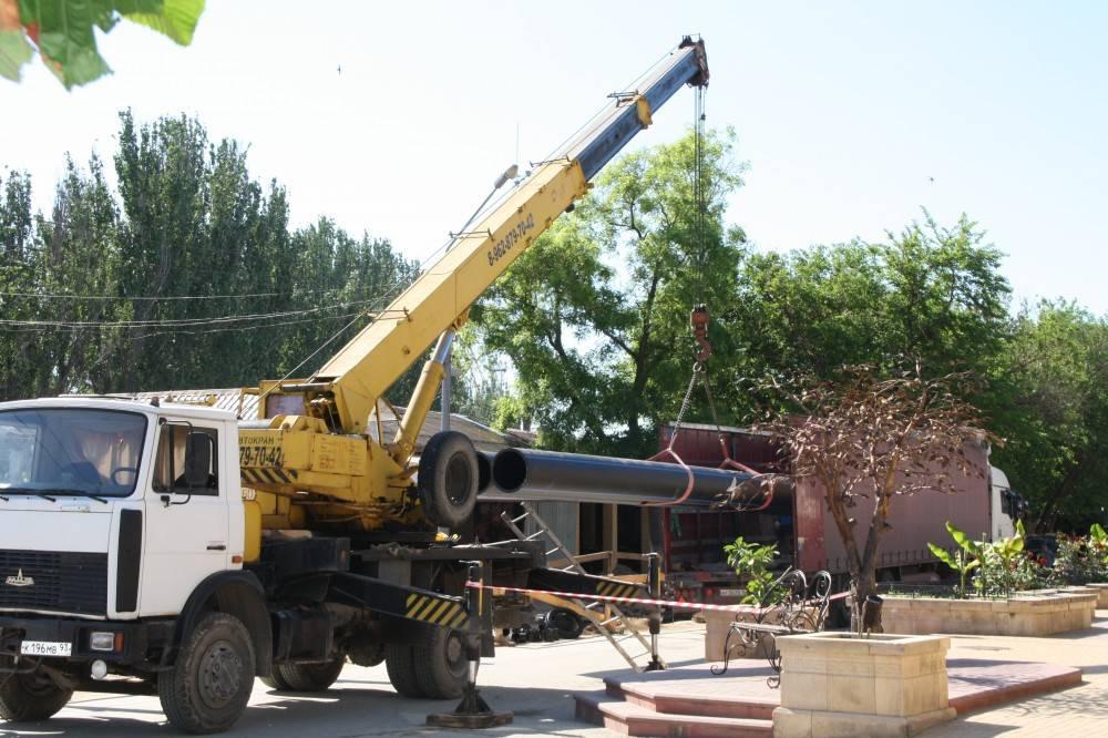В Феодосии работы на коллекторе приостановят до сентября