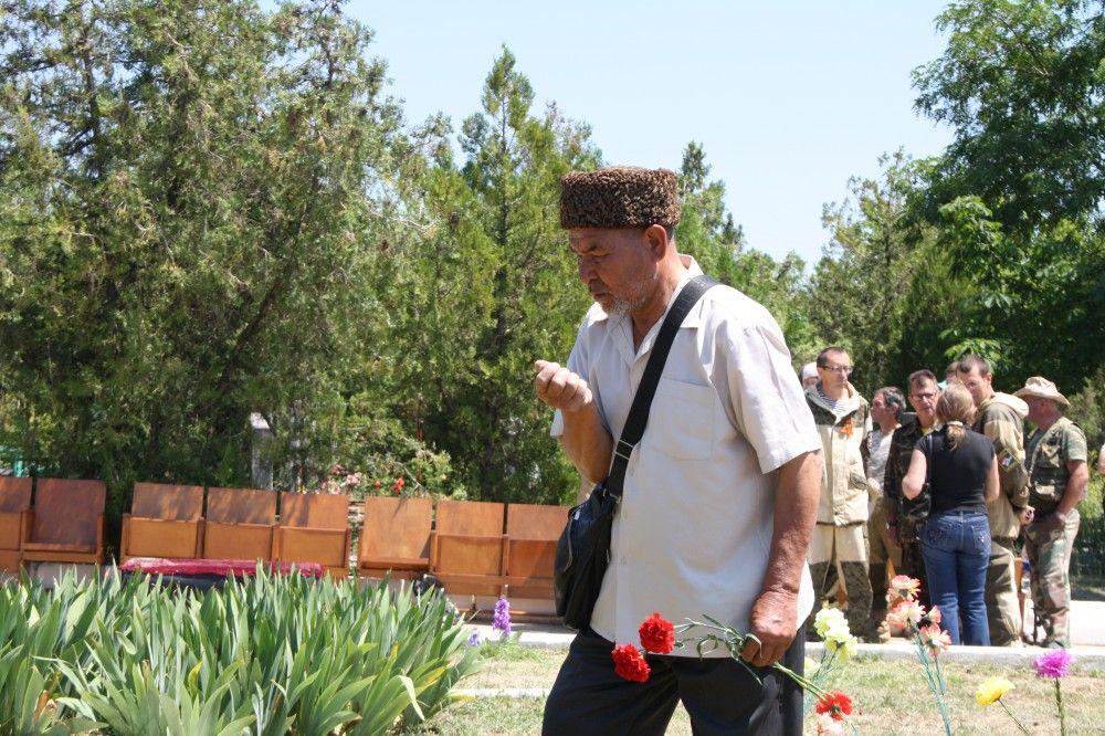 В Феодосии предали земле останки воинов
