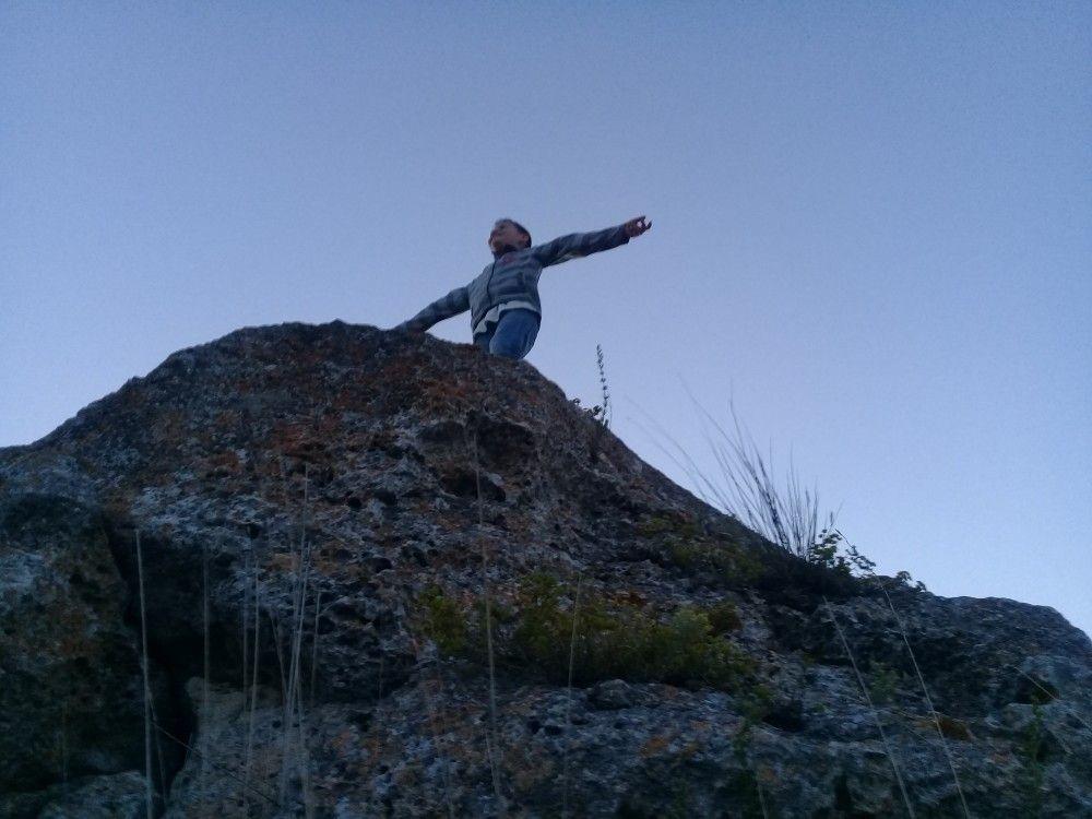 Первозданные склоны Казантипа