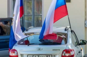 В Феодосии день России встретили марафоном и автопробегом