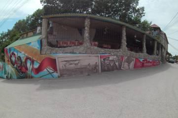 Еще одна масштабная художественная роспись украсила курортный Коктебель