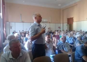Феодосийцы обсуждали отключения газа