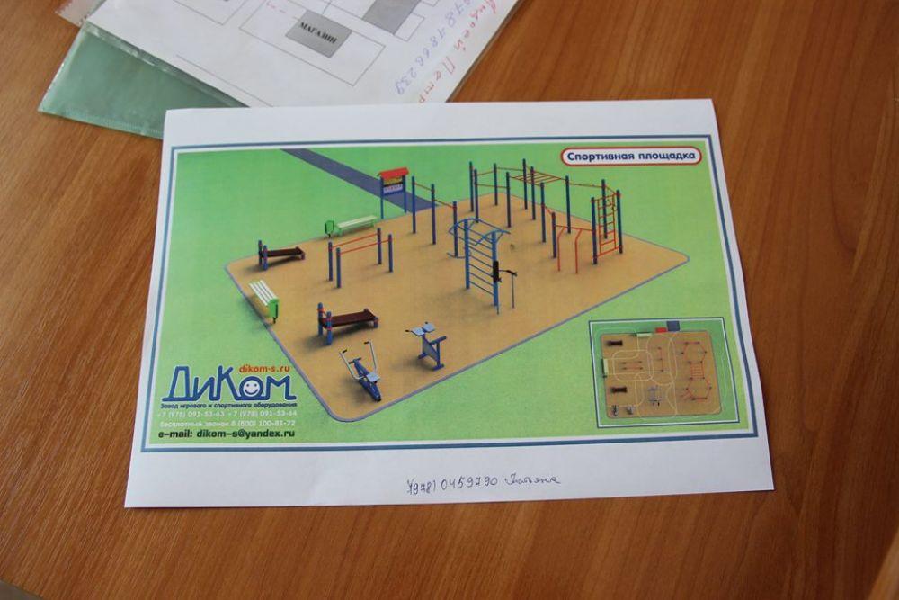 В Феодосии пока не решили, где устанавливать спортивные площадки