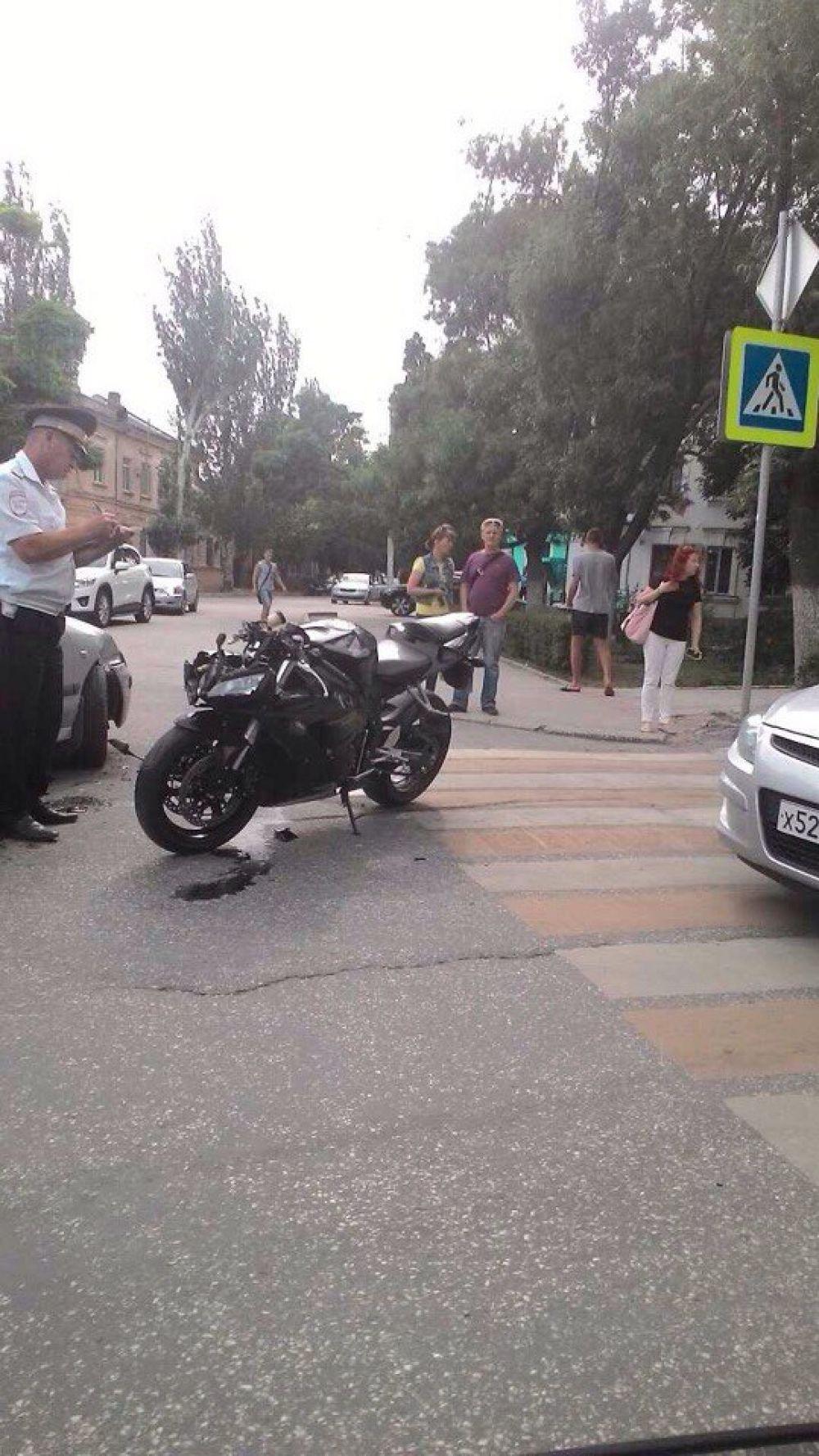 Мотоциклист стал жертвой очередного ДТП в Феодосии