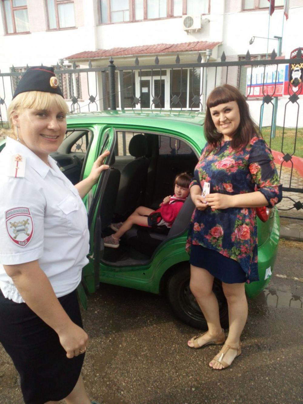 «Автокресло – детям!» операция в Ленинском районе