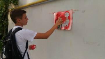 Студенты из Феодосии дали старт антинаркотической акции (ФОТО)