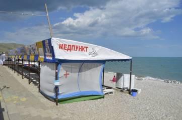 Коктебельские пляжи не вызвали вопросов у феодосийских властей (ФОТО)