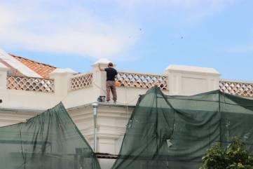 Подрядчик завершил противоаварийные работы кровли картинной галереи в Феодосии (ФОТО)