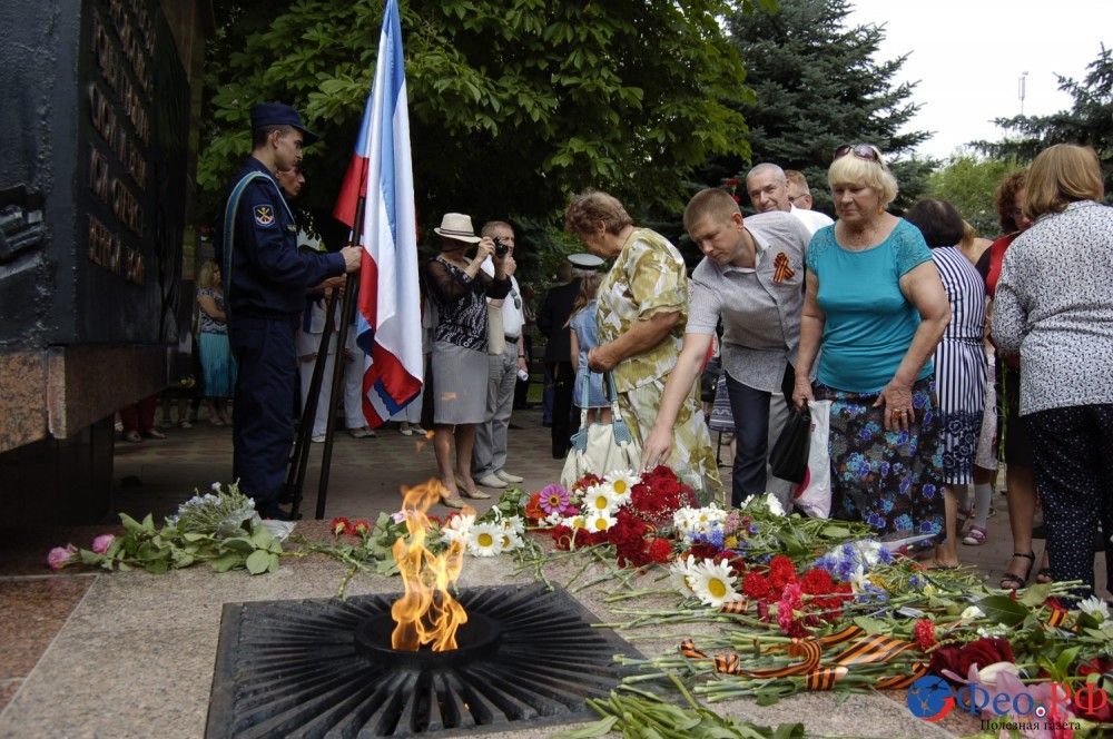 День памяти и скорби в Феодосии