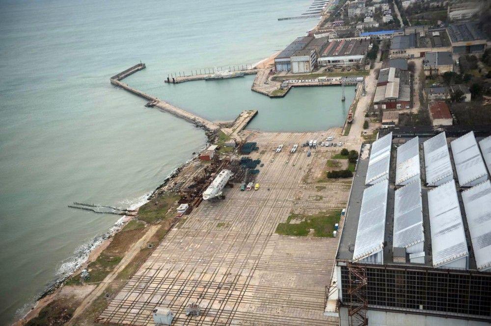 Феодосийские заводы оформляют свою недвижимость