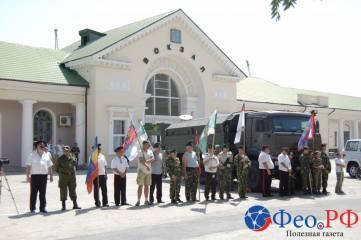 Пограничники Феодосии отметили свой праздник