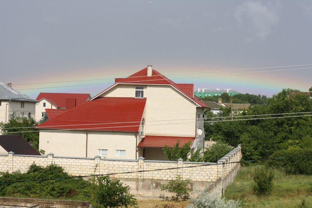 Над Феодосией показалась радуга