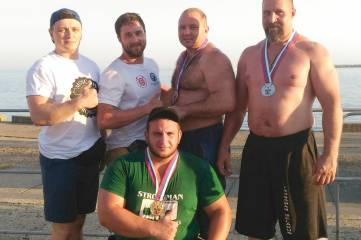 Силач из Феодосии стал призером на Всероссийском турнире
