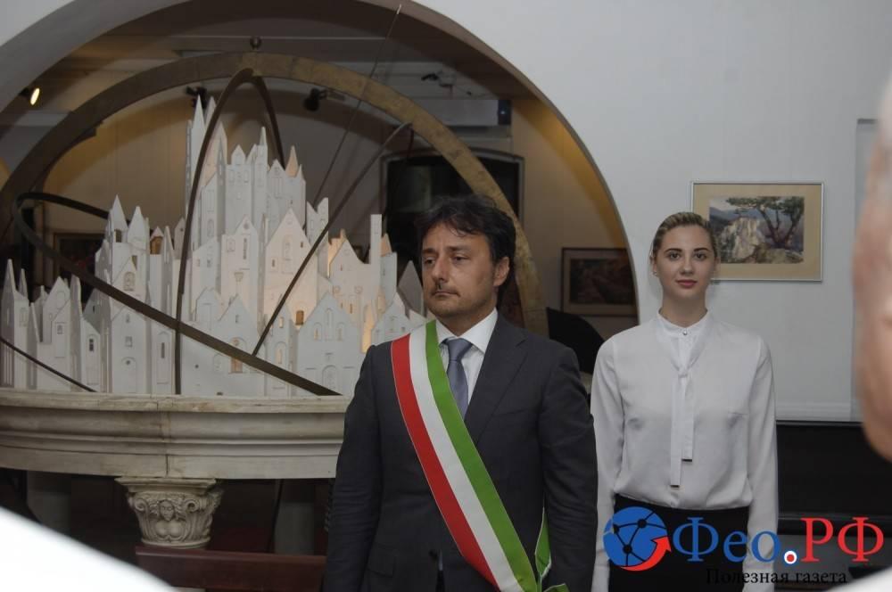 Феодосия подписала договор о дружбе с итальянским городом Бондено