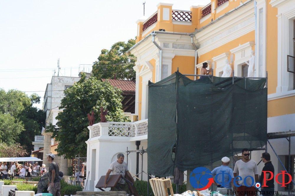 Памятник И.К.Айвазовскому предстанет в обновленном виде