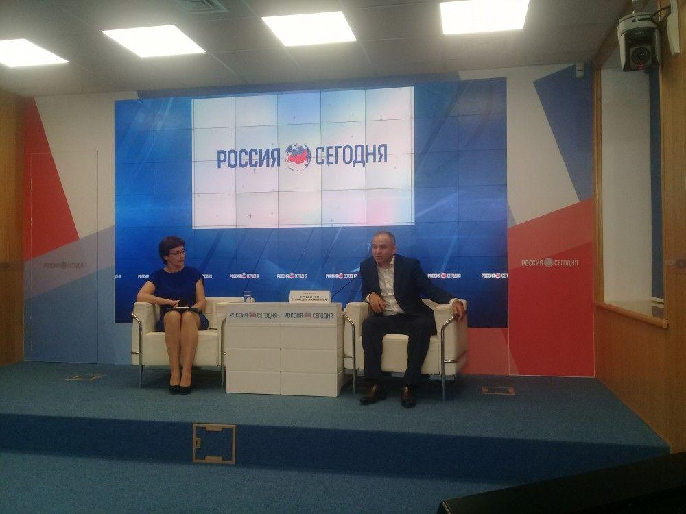 Глава Феодосии пообщался с журналистами (обновлено)
