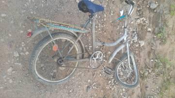 Ребенок на велосипеде стал участником ДТП под Феодосией (ФОТО)