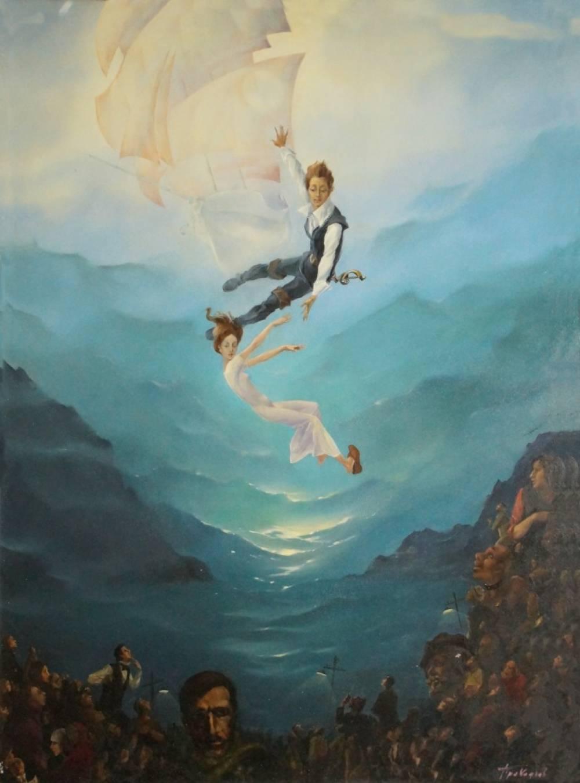 Художники твердо знают, что «Море и любовь не терпят педантов»