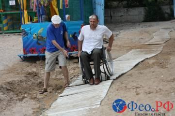 Как инвалиду добраться к морю и не перевернуться