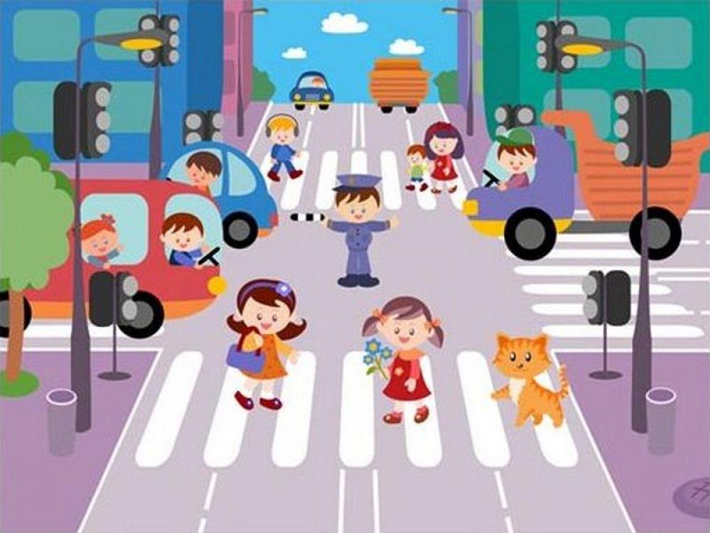 Интерактивная игра для детей на знание правил дорожного движения пройдет в Феодосии