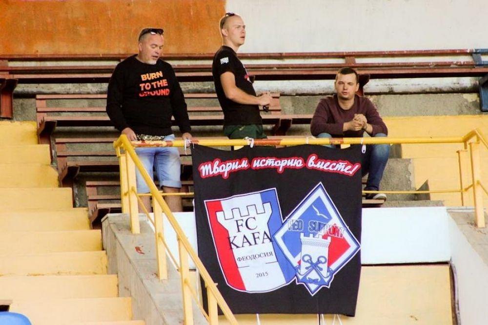 Крысин, «Кафа» и футбол: феодосийский футбольный клуб заявляет о проблемах