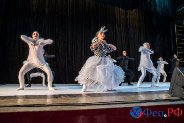 Анастасия Волочкова выступила в Феодосии