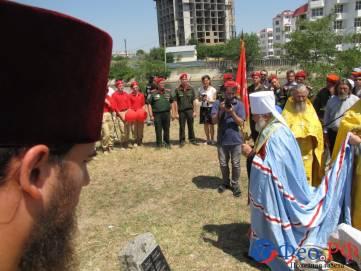 В Феодосии освятили закладной камень под часовню св. Федора Ушакова