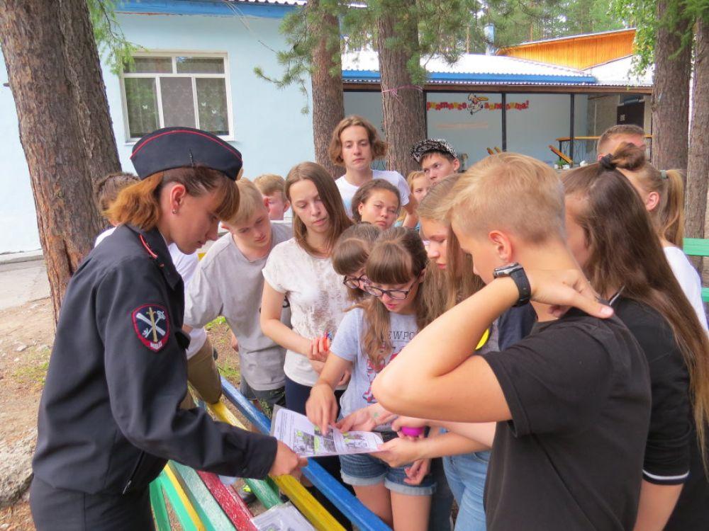 В феодосийских лагерях проходят «Уроки безопасности»