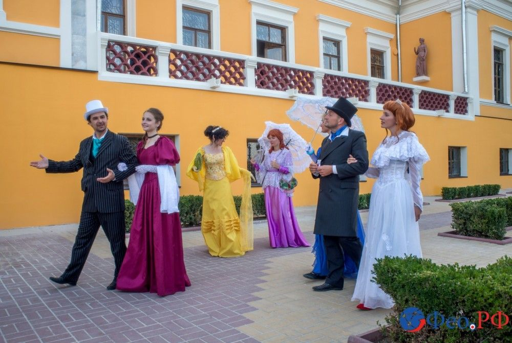 В Феодосии пофантазировали на тему Айвазовского. Фоторепортаж