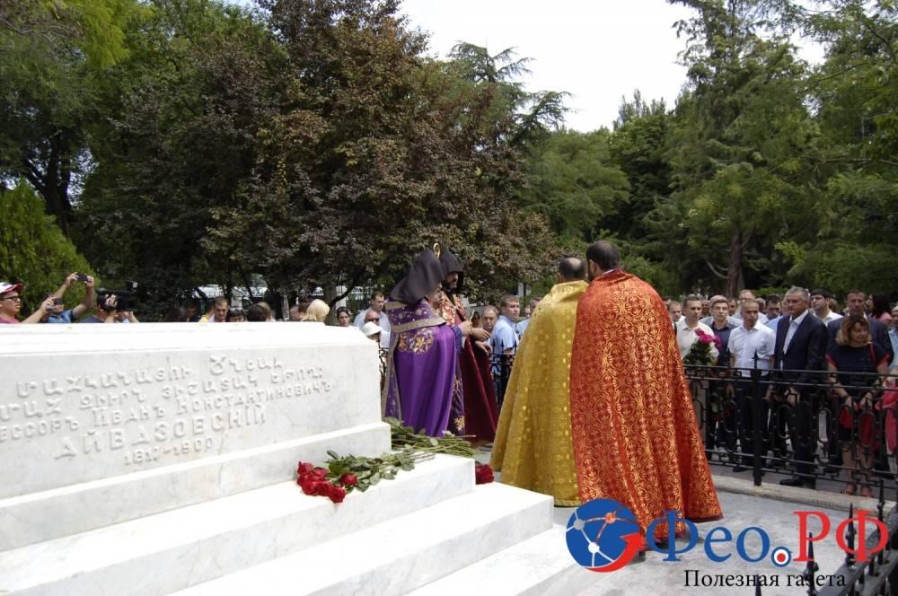 В связи с юбилеем Феодосию посетил глава Крыма Сергей Аксенов