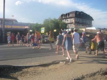 В поселке под Феодосией пешеходы спокойны (фотофакт)