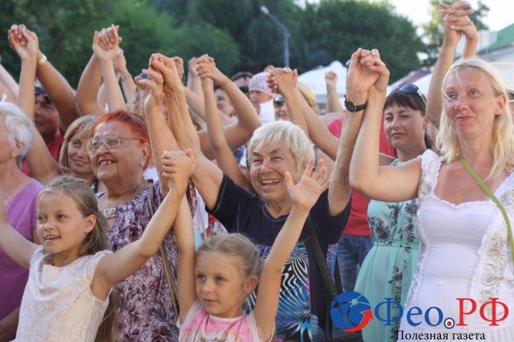 Праздничные мероприятия в Феодосии. День второй