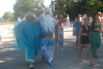 Около Феодосии видели Нептуна
