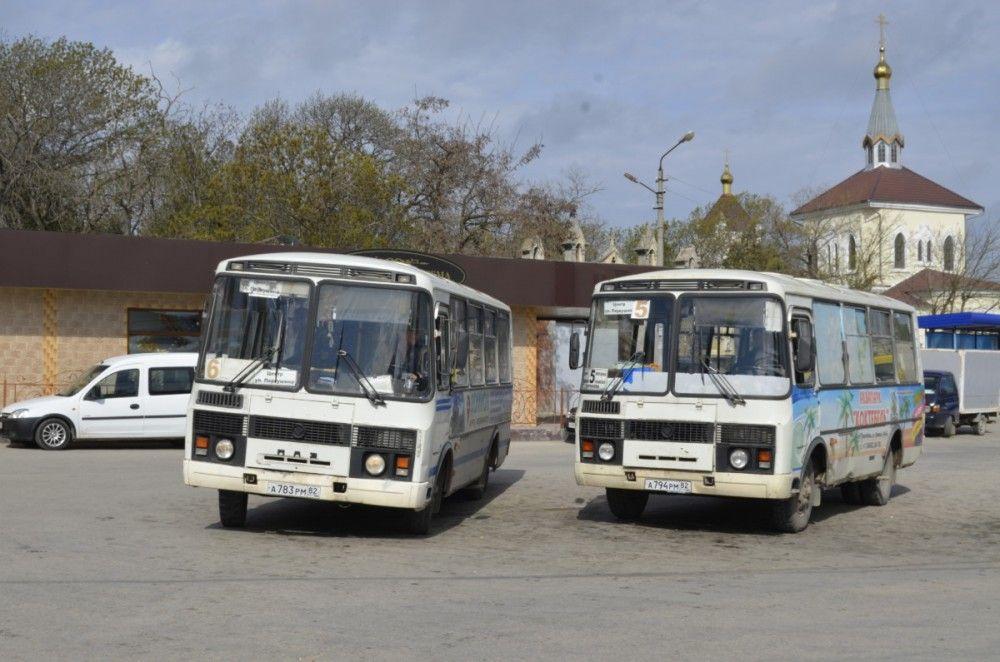 Феодосийские маршрутчики снова попались на нарушениях
