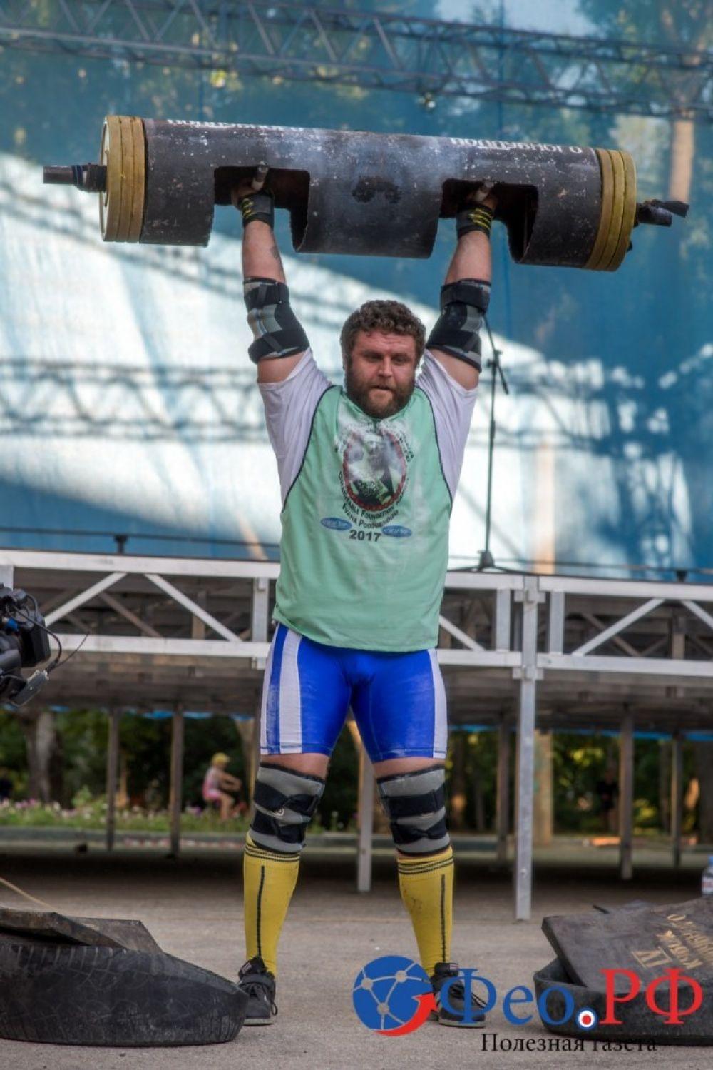 Феодосийский силовой экстрим в фоторепортаже Вадима Стрельцова