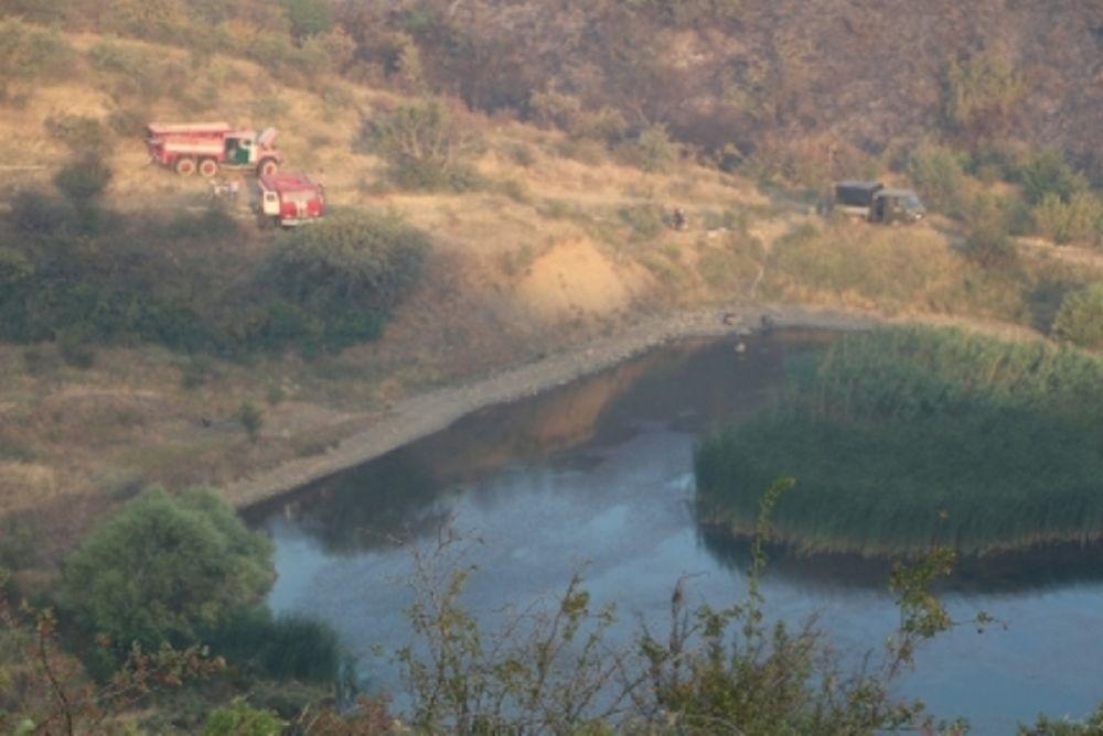 Спасатели потушили лесной пожар под Судаком