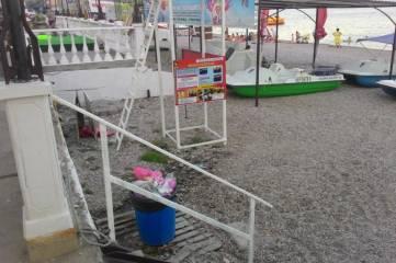 Проверяющие констатировали антисанитарию в местах массового отдыха в Коктебеле
