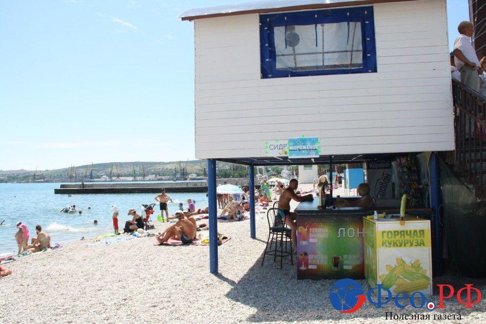 ООО «Ягуар» хочет узаконить «будки» на пляже «Камешки»