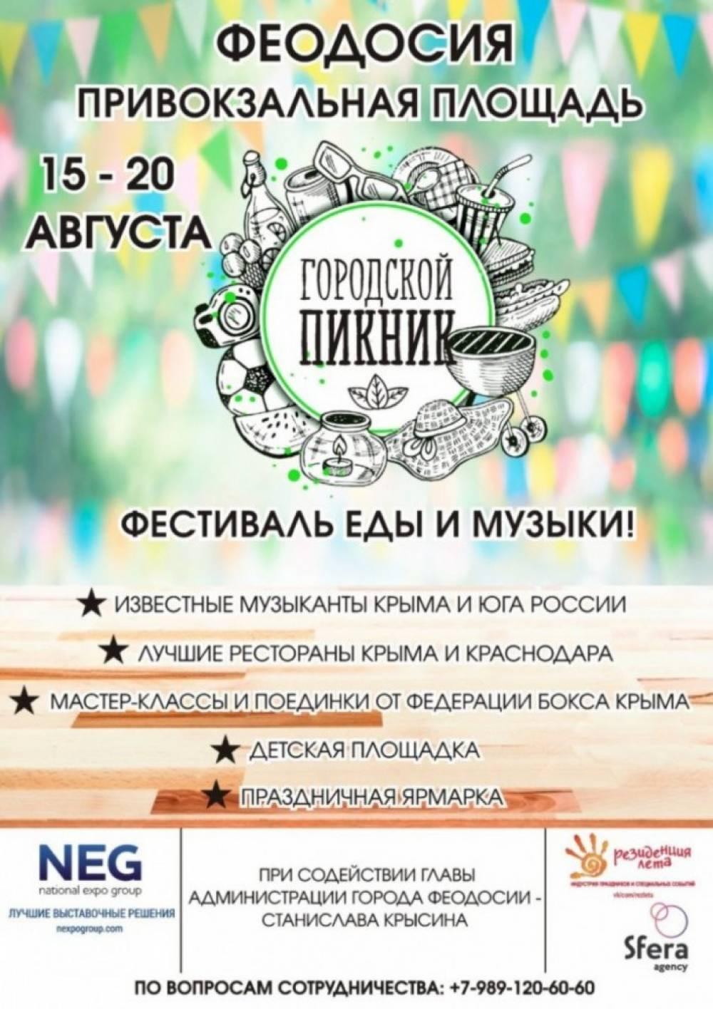 Фестиваль в Феодосии перенесли из-за погоды