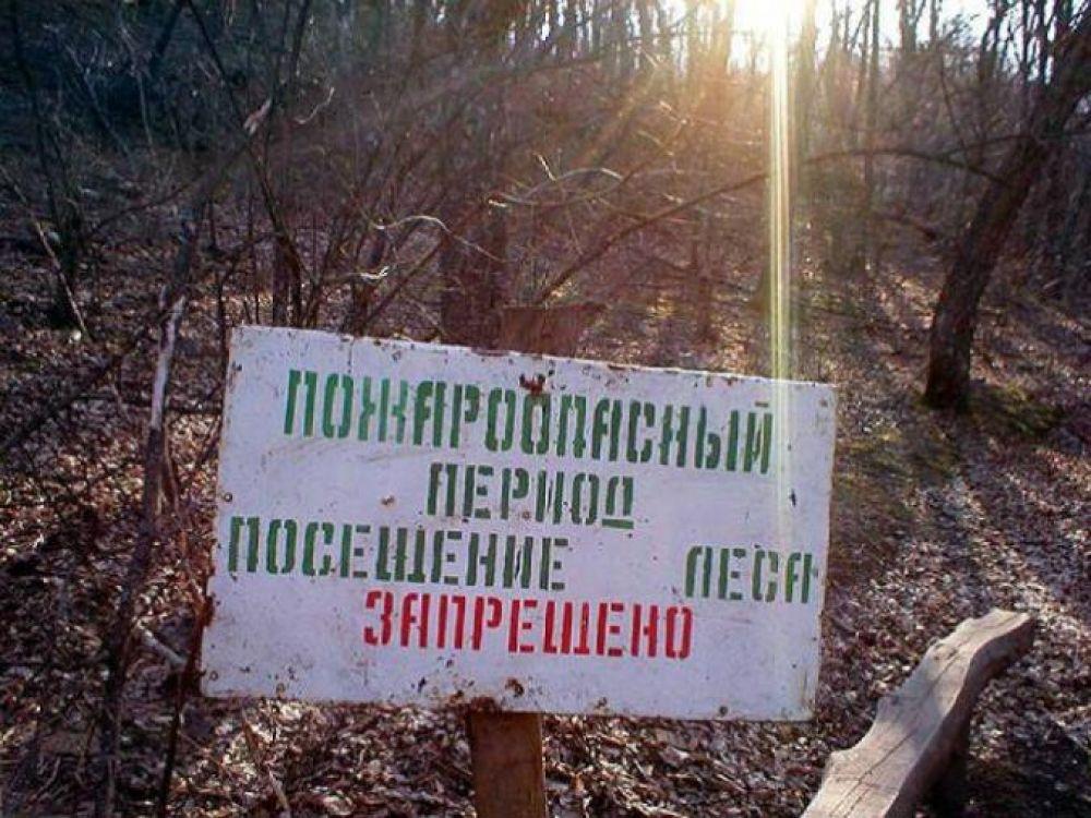В Феодосии введен особый противопожарный режим