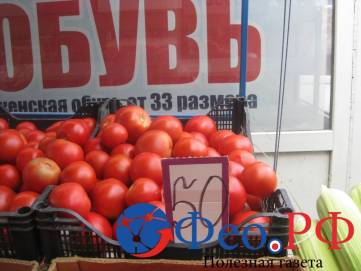 Цены на трех рынках Феодосии
