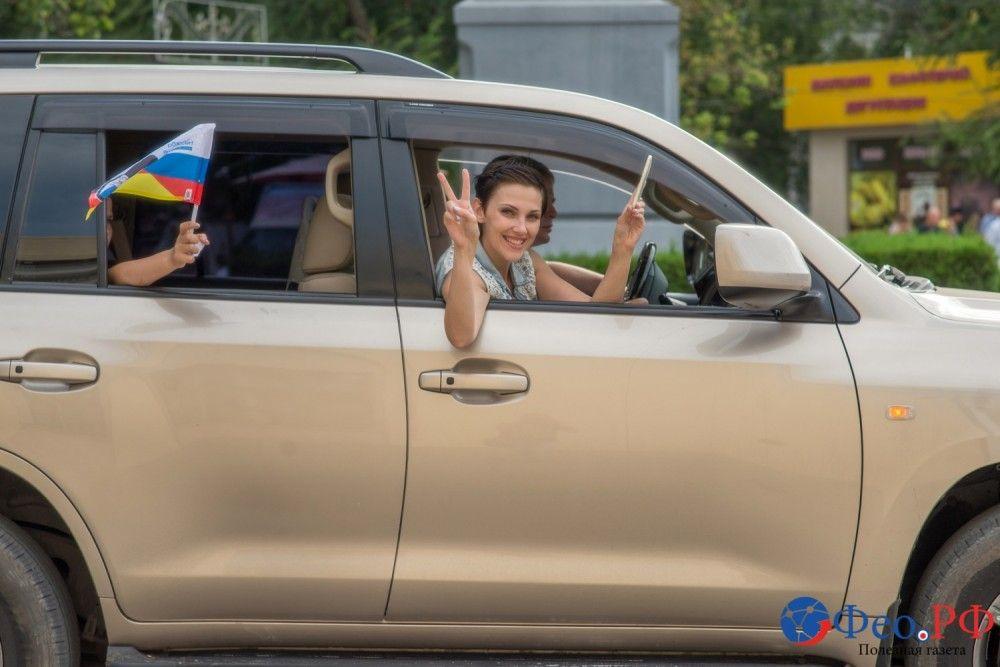 «Ночные волки» в Феодосии с Вадимом Стрельцовым