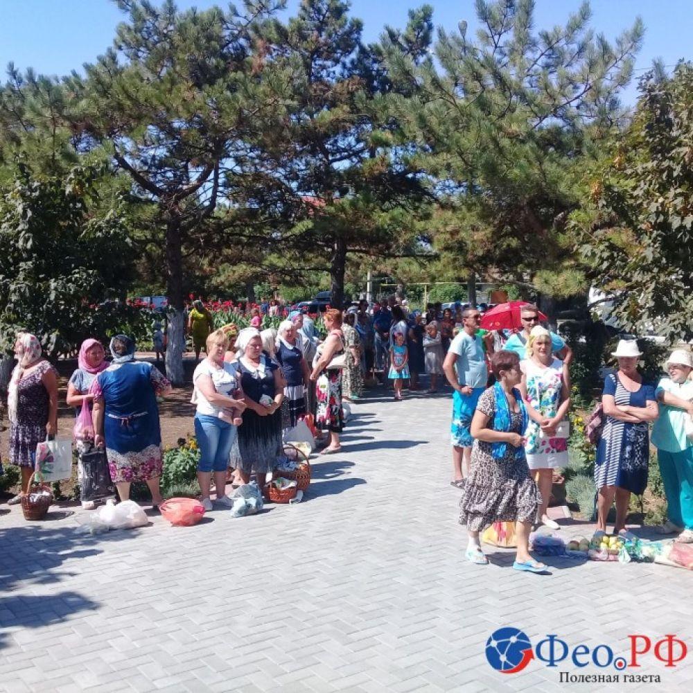 Яблочный спас под Феодосией (фоторепортаж)